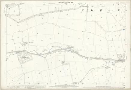 Durham XLVII.14 (includes: Cleatlam; Streatlam And Stainton; Whorlton; Winston) - 25 Inch Map