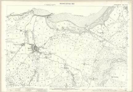 Caernarvonshire XXV.12 (includes: Llanaelhaiarn) - 25 Inch Map