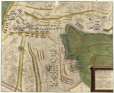 Plan de la Battaille entre Mons et Maubeuge