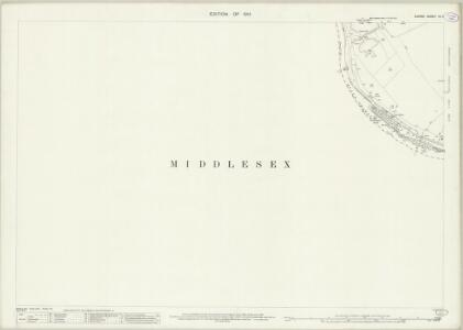 Surrey VI.11 (includes: Ham; Twickenham St Mary The Virgin) - 25 Inch Map