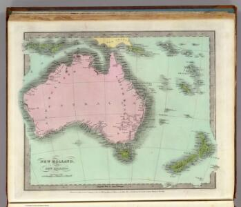 New Holland And New Zealand.