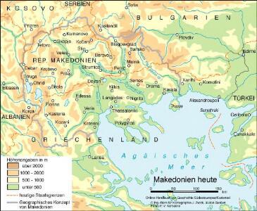 Makedonien heute