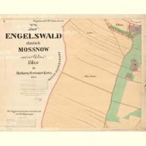 Egelswald - m1893-1-001 - Kaiserpflichtexemplar der Landkarten des stabilen Katasters
