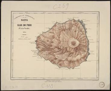 Carta da Ilha do Fogo (Cabo Verde)