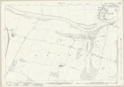 Durham LIV.6 (includes: Cliffe; Eppleby; Gainford; High Coniscliffe; Manfield; Piercebridge; Stanwick St John) - 25 Inch Map