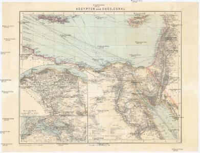 Aegypten und Sues-Canal