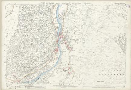 Lancashire XII.2 (includes: Haverthwaite; Staveley) - 25 Inch Map