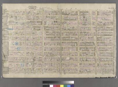 Plate 15: Bounded by W. 52nd Street, Sixth Avenue, W. 40th Street, and (Hudson River) Twelfth Avenue.