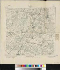 Meßtischblatt 2108 : Buchholz bei Treuenbrietzen, 1918