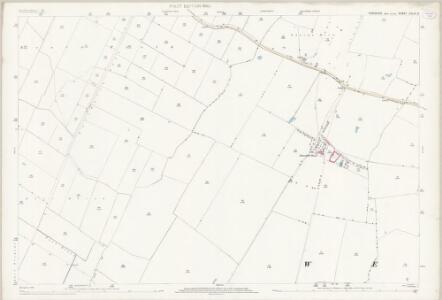 Yorkshire CCLVI.8 (includes: Patrington; Welwick) - 25 Inch Map