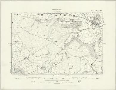 Somerset LVII.SE - OS Six-Inch Map