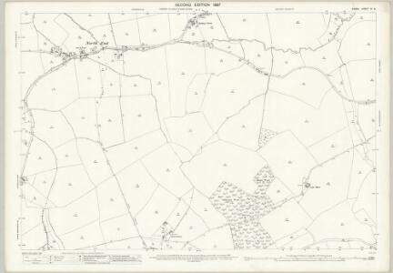 Essex (1st Ed/Rev 1862-96) XI.8 (includes: Belchamp Walter; Castle Hedingham; Gestingthorpe; Little Yeldham) - 25 Inch Map