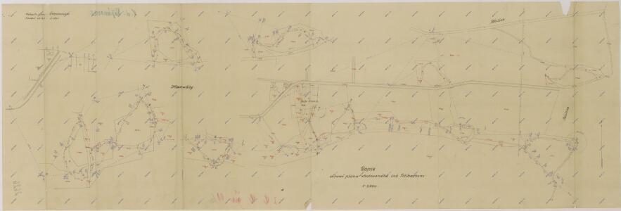 Manuály parcelace pozemků dvora Vranín 1