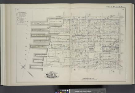 Vol. 5. Plate, H. [Map bound by Atlantic Ave., Clinton St., Harrison St., East River; Including Pacific St., Amity St., Congress St., Verandan Pl., Warren St., Baltic St., Columbia St., Hicks St., Henry St.]