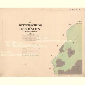 Reiterschlag - c5640-2-001 - Kaiserpflichtexemplar der Landkarten des stabilen Katasters