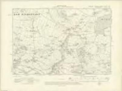 Yorkshire CXXXVI.NW - OS Six-Inch Map