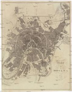 Plan von Moskwa