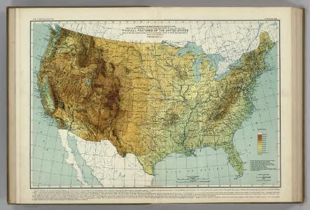 Physical Features of the United States.  Atlas of American Agriculture.