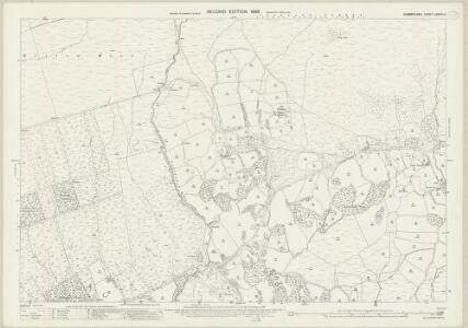 Cumberland LXXVIII.4 (includes: Gosforth) - 25 Inch Map