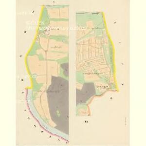 Dobschitz - c1223-1-006 - Kaiserpflichtexemplar der Landkarten des stabilen Katasters