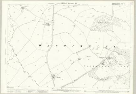 Huntingdonshire IX.1 (includes: Folksworth and Washingley; Lutton; Warmington) - 25 Inch Map