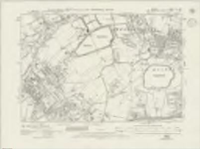 Surrey XII.NW - OS Six-Inch Map