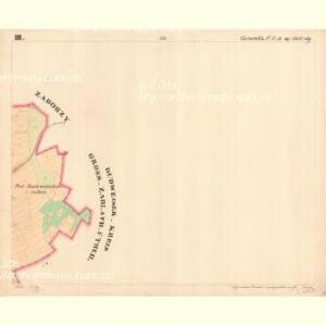 Cziczienitz - c1005-1-003 - Kaiserpflichtexemplar der Landkarten des stabilen Katasters
