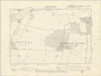 Cambridgeshire LII.NW - OS Six-Inch Map