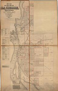 Map of the City of La Crosse, Wisconsin