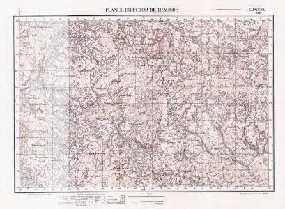 Lambert-Cholesky sheet 2662 (Curechiu)