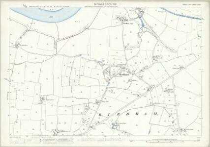 Sussex LXXIII.1 (includes: Birdham) - 25 Inch Map