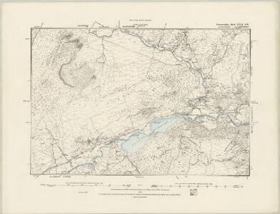 Caernarvonshire XVII.NE - OS Six-Inch Map