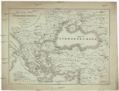Uebersichts Karte des Türkischen Reiches in Europa und Asien