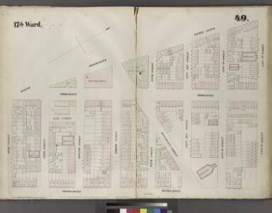 Plate 49: Map bounded by East 12th Street, Second Avenue, Fifth Street, Bowery, Fourth Avenue.