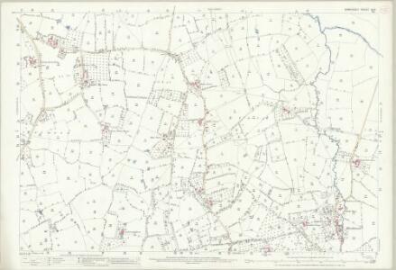 Somerset XI.13 (includes: Burrington; Churchill; Congresbury; Wrington) - 25 Inch Map
