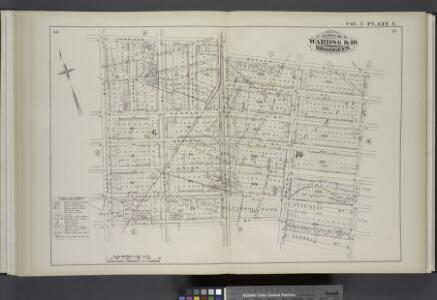 Vol. 5. Plate, L. [Map bound by Harrison St., Court St., Butler St., Hoyt St., Carroll St., Smith St., Henry St.; Including Degraw St., Sackett St., Union St., President St., Clinton St., Tompkins St.]