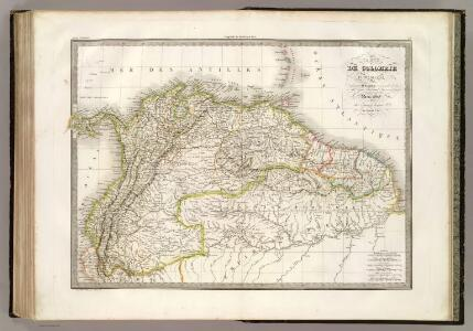 Colombie, Guyanes.