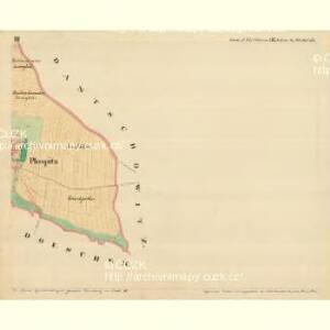 Plospitz - m2301-1-003 - Kaiserpflichtexemplar der Landkarten des stabilen Katasters