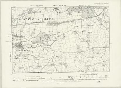 Devonshire CXXIV.NW - OS Six-Inch Map