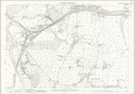 Derbyshire XL.5 (includes: Alderwasley; Heage) - 25 Inch Map
