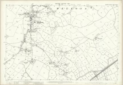 Monmouthshire XXXVIII.1 (includes: Cardiff; St Mellons) - 25 Inch Map