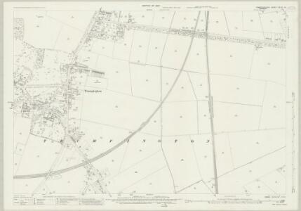Cambridgeshire XLVII.10 (includes: Cambridge; Great Shelford; Haslingfield) - 25 Inch Map