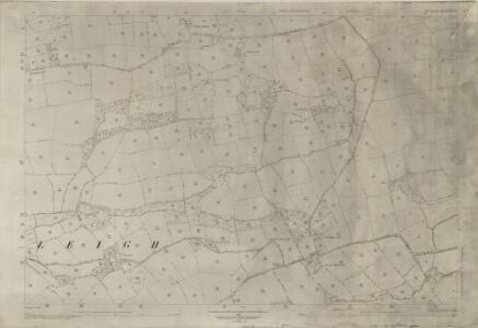 Devon LII.4 (includes: Broadwood Kelly; Dowland; Iddesleigh; Winkleigh) - 25 Inch Map