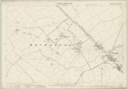 Bedfordshire XXVIII.8 (includes: Battlesden; Chalgrave; Eggington; Hockliffe) - 25 Inch Map
