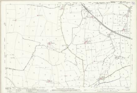 Yorkshire XCV.15 (includes: Burton In Lonsdale; Cantsfield; Ireby; Thornton In Lonsdale) - 25 Inch Map