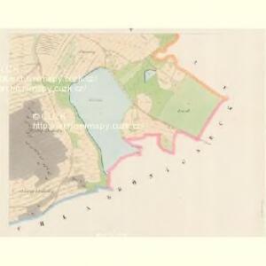 Drösowitz - c7494-1-005 - Kaiserpflichtexemplar der Landkarten des stabilen Katasters