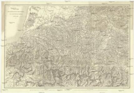 Theatre des opérations militaires sur la frontiére des Pyrénées von 1813 et 1814