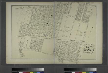 Portion of East New York. New Lots Tn. Kings Co. L.I. [Jamaica Plank Road to Liberty Avenue, Eldert Avenue to Eldert Lane.]
