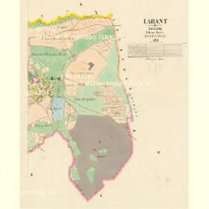 Labant - c3784-1-002 - Kaiserpflichtexemplar der Landkarten des stabilen Katasters