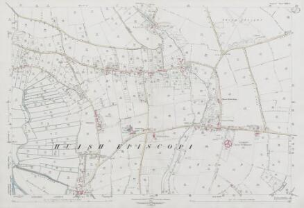 Somerset LXXII.4 (includes: Aller; High Ham; Huish Episcopi; Langport) - 25 Inch Map